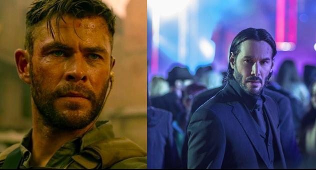 Chris Hemsworth több embert ölt meg, mint John Wick a második felvonásban